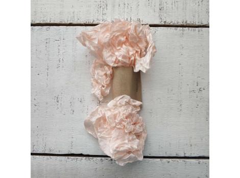 Шебби-лента розово-персиковая