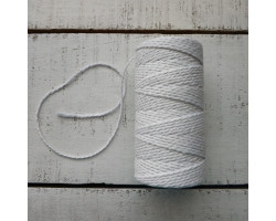 Шнур хлопковый 2 мм белый