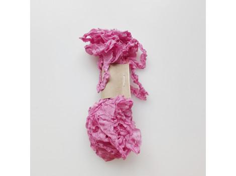 Шебби-лента розовая астра