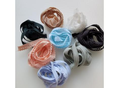 Набор кружевных эластичных резинок №9