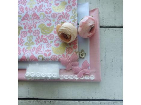 Набор материалов Розовая нежность