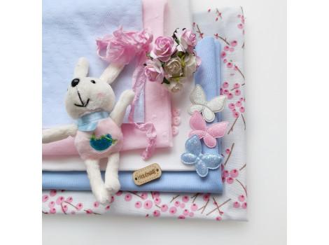 Набор материалов Розово-голубой