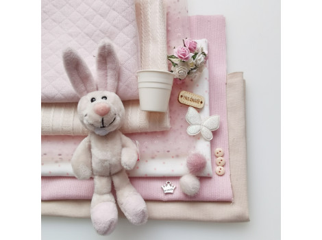 Набор материалов Бежево-розовый