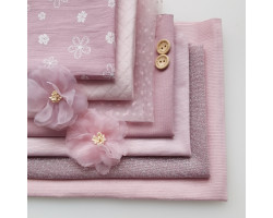 Набор материалов Розово-лиловый