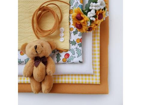 Набор материалов Желтый янтарь
