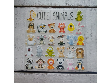 Термонаклейки Animals №2