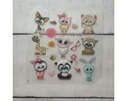 Термонаклейки Animals №10