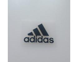 Термонаклейка Adidas полоски черная