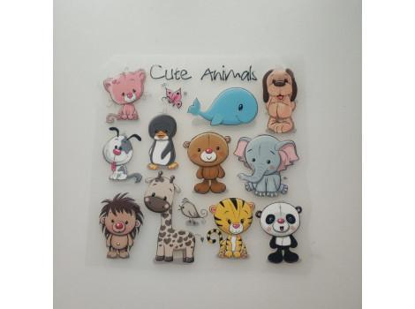 Термонаклейки Animals №17