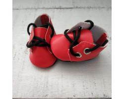 Ботиночки 5 см красные