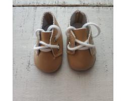Ботиночки 5 см бежевые