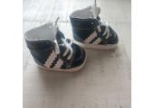 Кроссовки для кукол Adidas 5 см черные