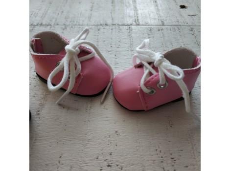 Ботиночки 5 см розовые