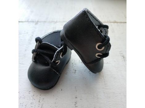 Ботиночки 5 см черные