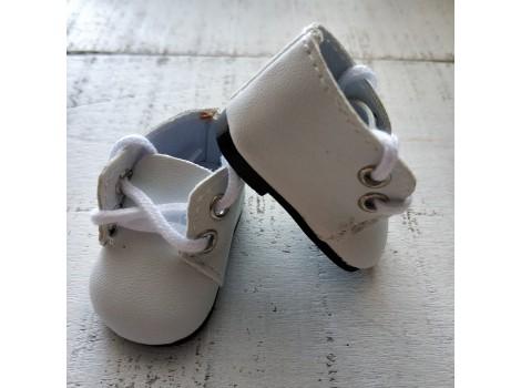 Ботиночки 5 см белые