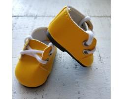 Ботиночки 5 см желтые