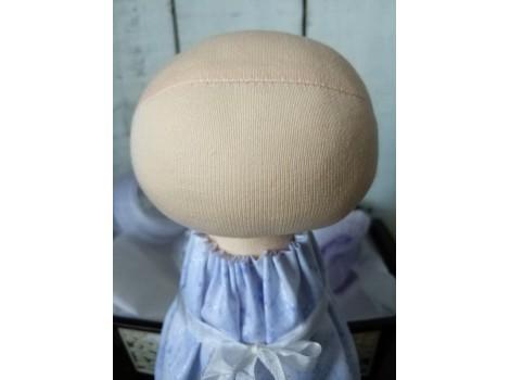 Трикотаж для тела кукол 90*90 см цвет персиково-телесный