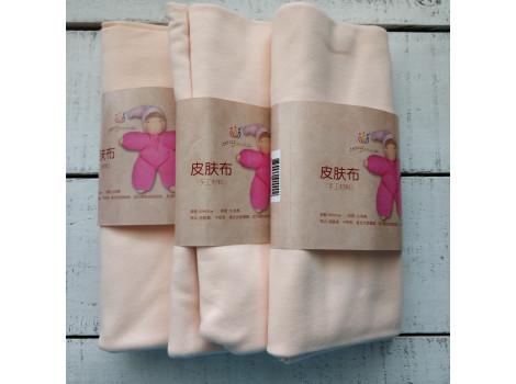Трикотаж для тела кукол 45*45 см цвет персиково-телесный