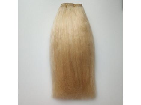 Трессы из натуральной шерсти яка прямые светлая карамель упаковка 2м