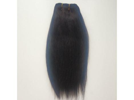 Трессы из натуральной шерсти верблюда прямые коричнево-черные упаковка 2м