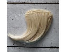 Трессы каре прямые 10 см блонд №88