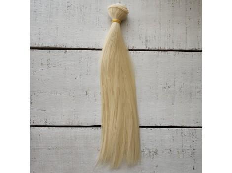 Трессы прямые 25 см блонд №88