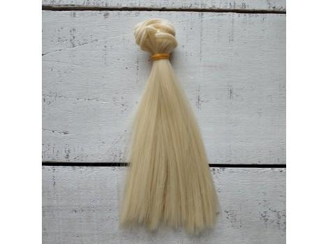 Трессы прямые 15 см блонд №88