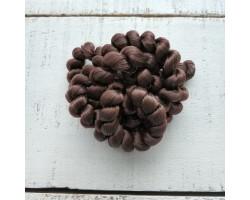 Волосы для кукол в жгутах темный шоколад