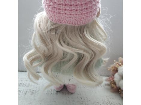 Трессы волны холодный блонд №60