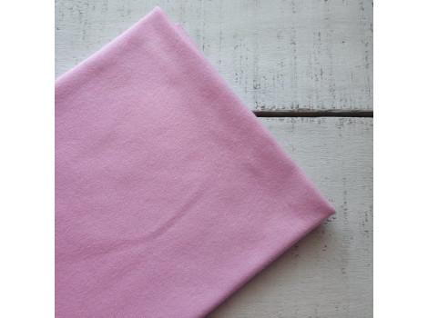 Трикотаж интерлок розовый
