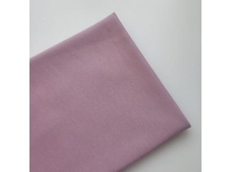 Трикотаж однотонный футер двунитка розово-лиловый