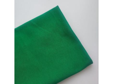 Трикотаж рибана зеленый