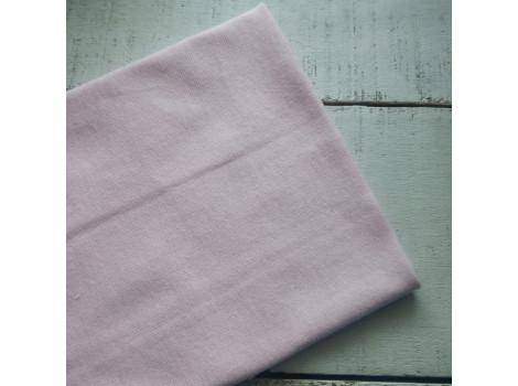 Трикотаж рибана нежно-розовый