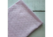 Трикотаж кулирка ажурный светло-розовый