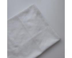 Трикотаж кулирка ажурный молочно-белый