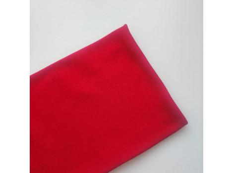 Трикотаж интерлок красный
