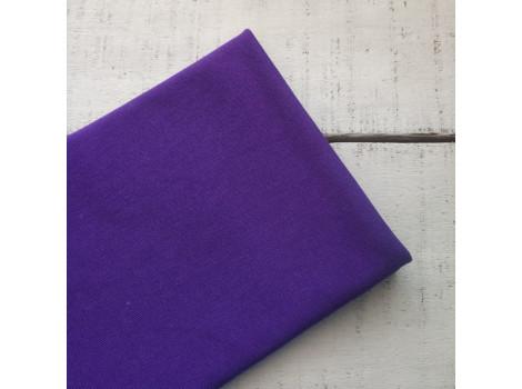 Трикотаж рибана фиолетовый