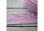 Трикотаж труба 7 см розовый УЦЕНКА! Есть белые пятна!