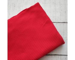 Трикотаж лапша красный