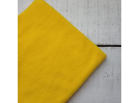 Флис ярко-желтый