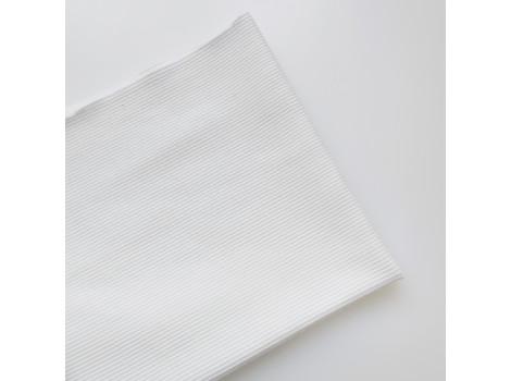 Трикотаж кашкорсе молочно-белый