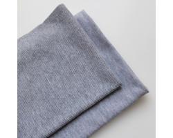 Набор трикотажа: футер и кашкорсе цвет серый меланж