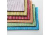 Трикотаж кулирка серо-розовая полоска 2 мм