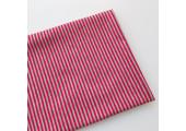 Трикотаж кулирка серо-красная полоска 2 мм