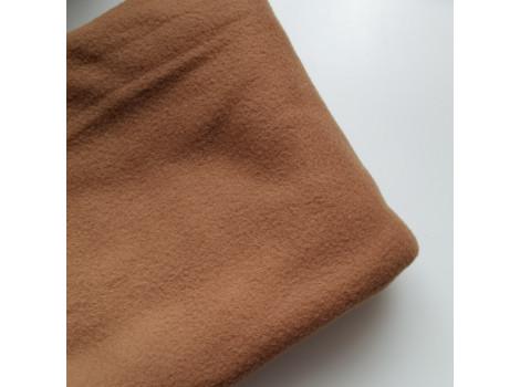 Флис коричневый